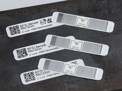 RFID labels met antenne