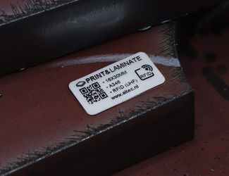 RFID Print & Laminate label