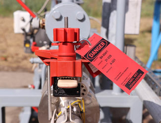 Tags voor Lockout Tagout