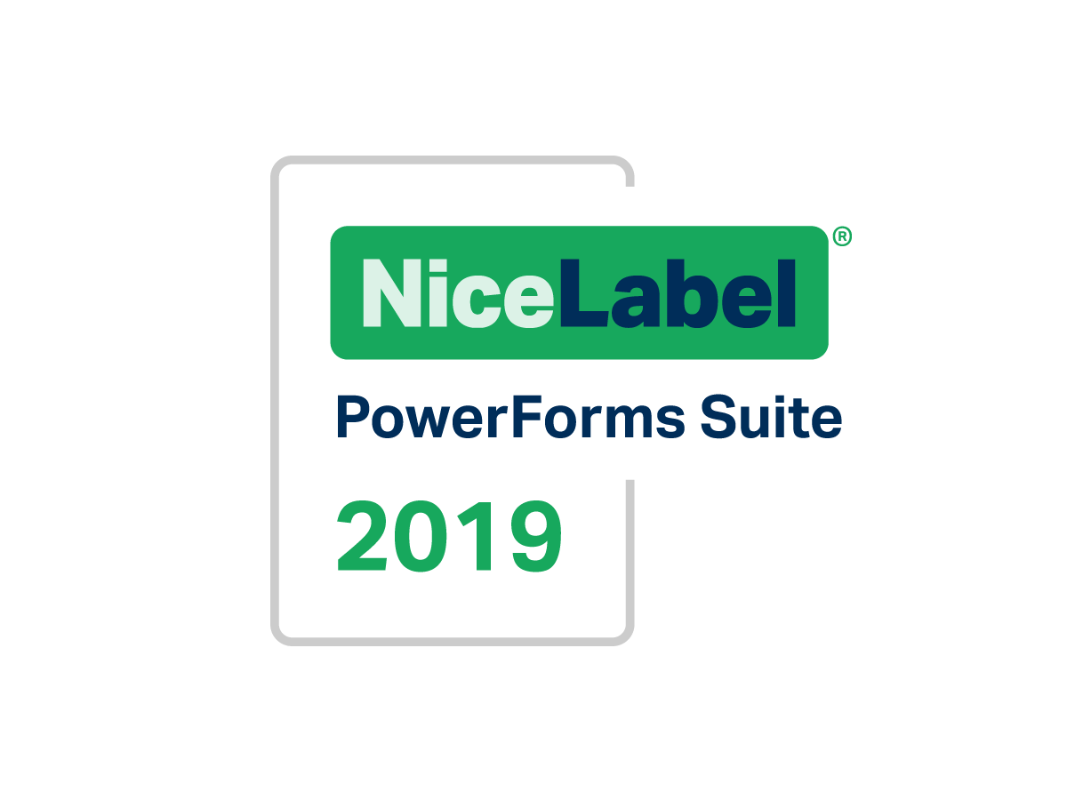 NiceLabel 2019 PowerForms Suite